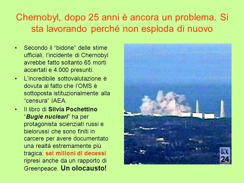 Chernobyl, dopo 25 anni è ancora un problema