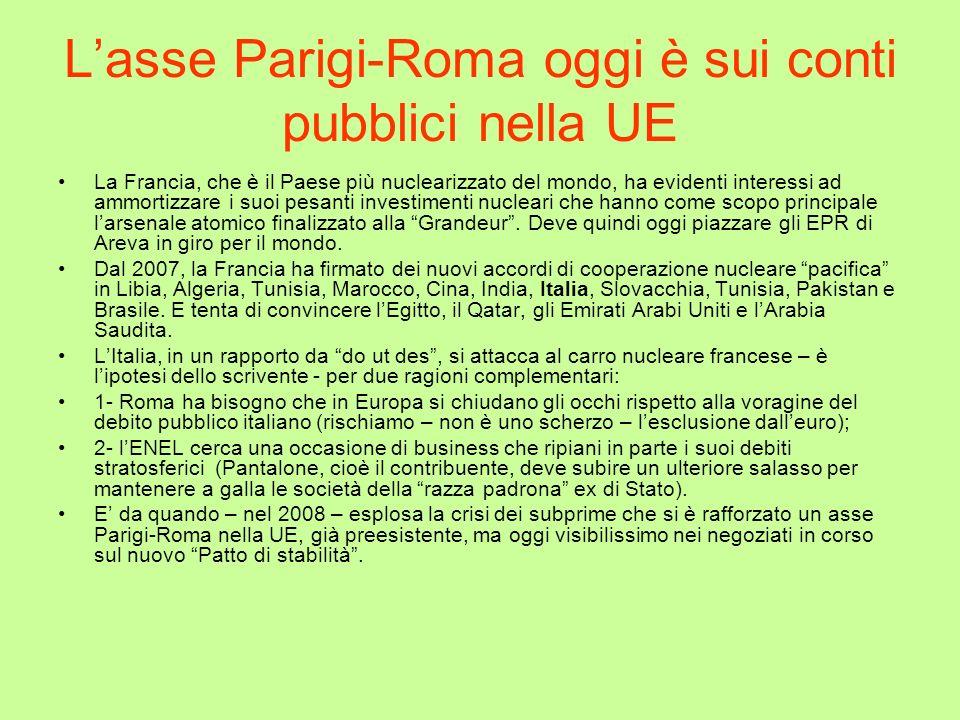 L'asse Parigi-Roma oggi è sui conti pubblici nella UE