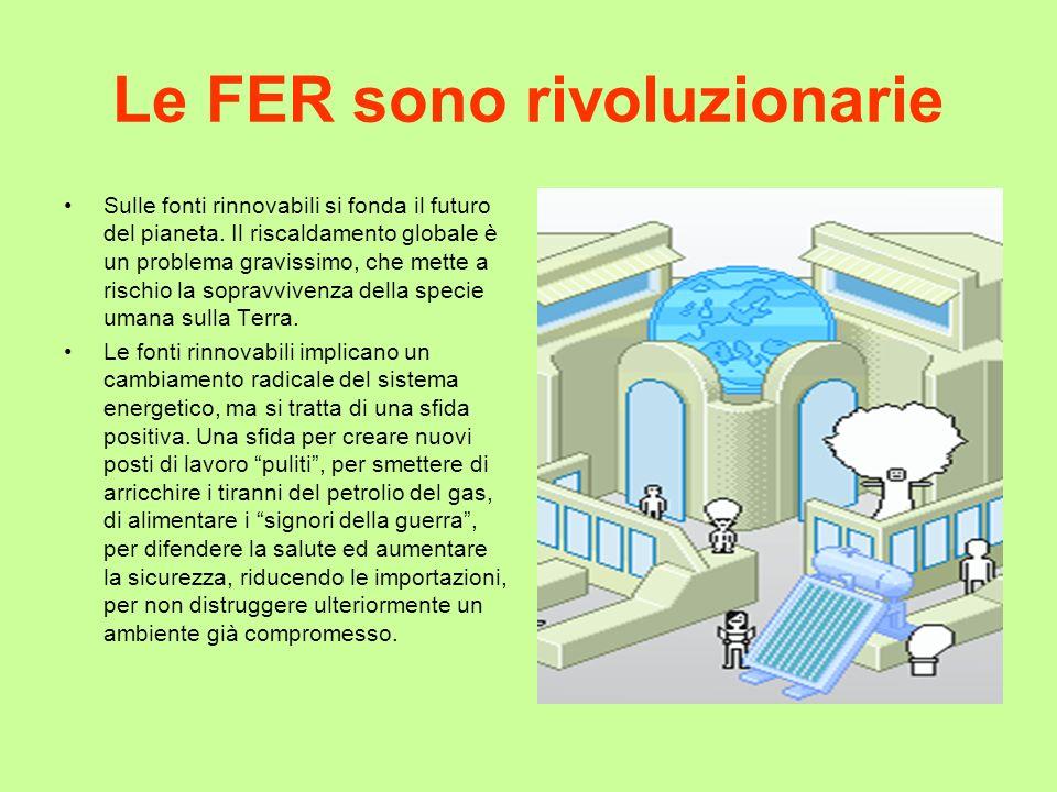 Le FER sono rivoluzionarie