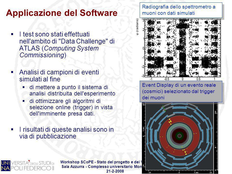Applicazione del Software
