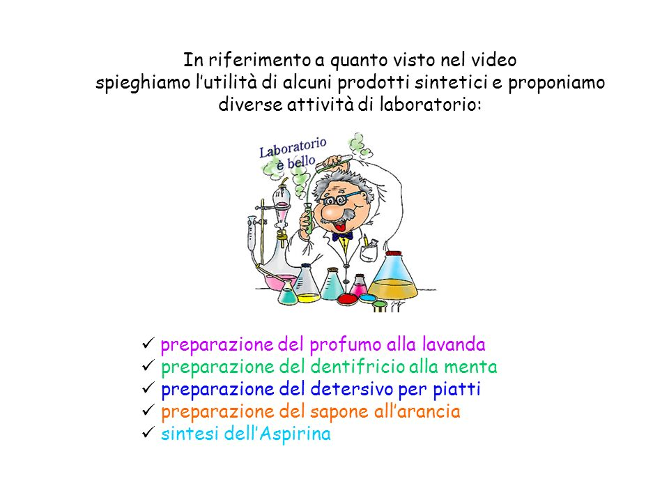 In riferimento a quanto visto nel video