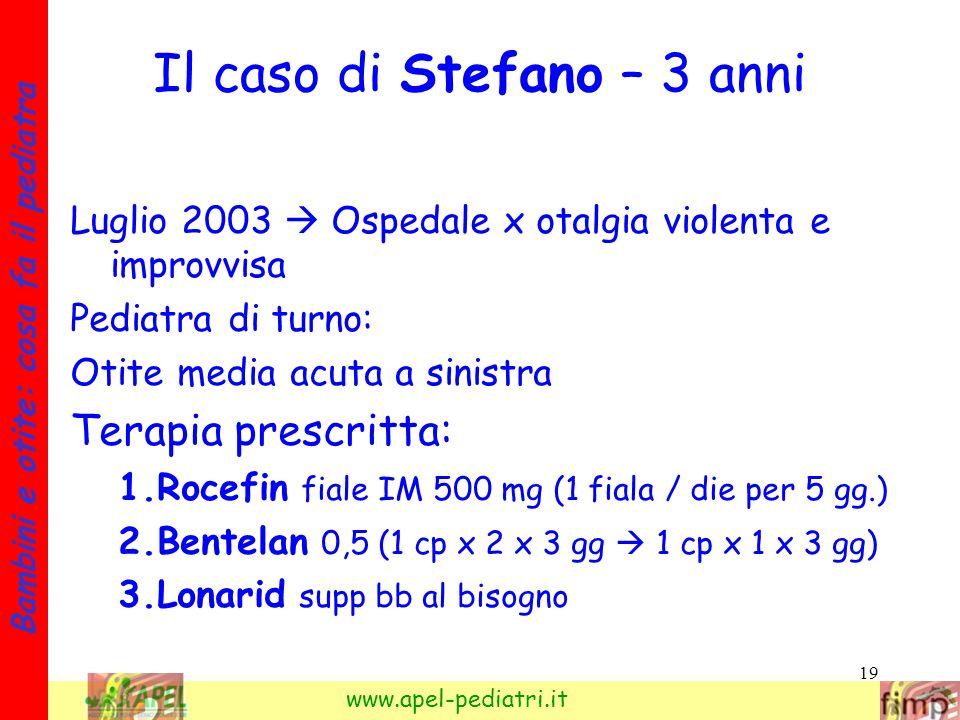 Il caso di Stefano – 3 anni