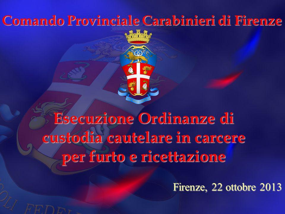Comando Provinciale Carabinieri di Firenze
