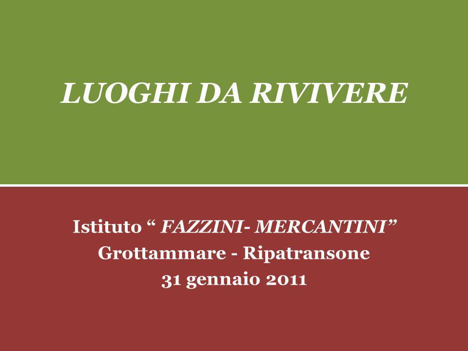 Istituto Fazzini- Mercantini Grottammare - Ripatransone