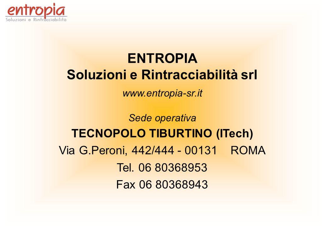 Soluzioni e Rintracciabilità srl TECNOPOLO TIBURTINO (ITech)