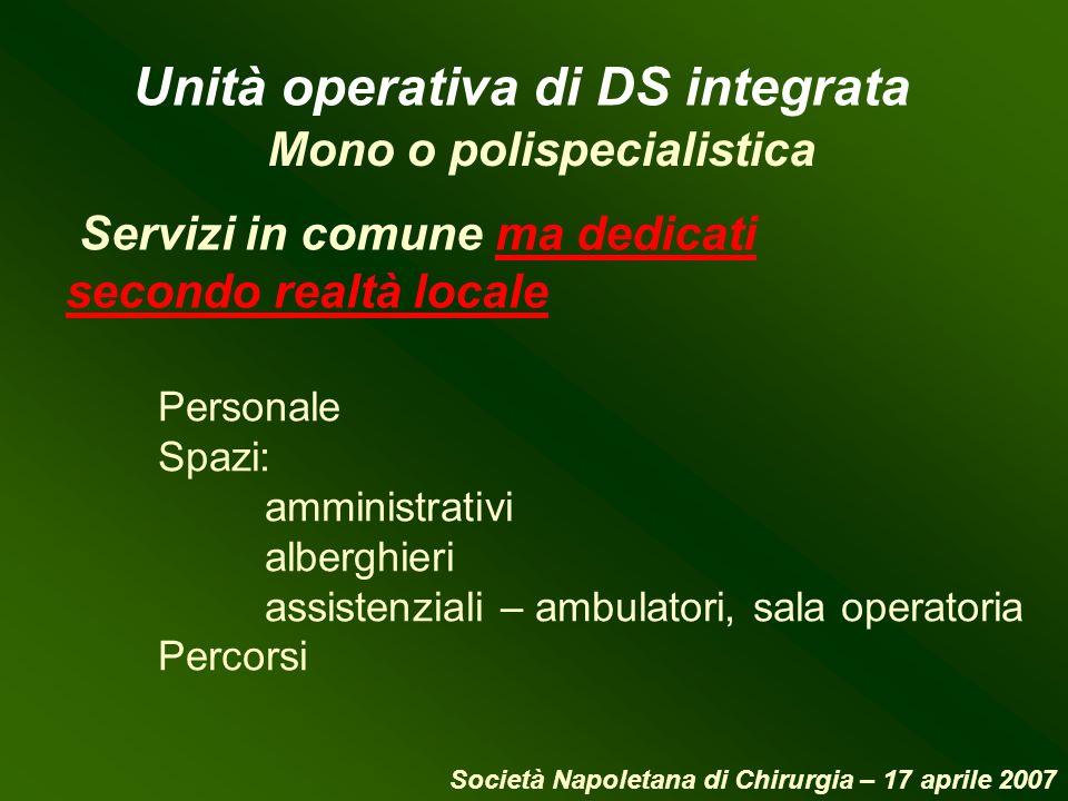Unità operativa di DS integrata