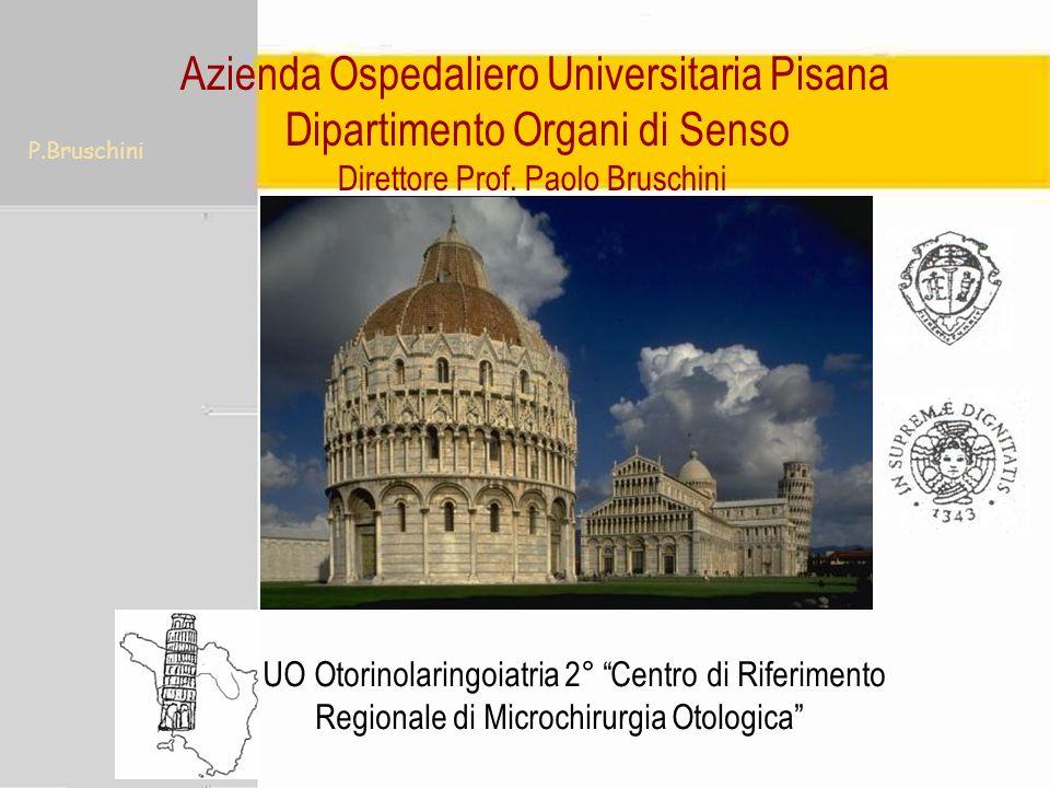 Azienda Ospedaliero Universitaria Pisana Dipartimento Organi di Senso