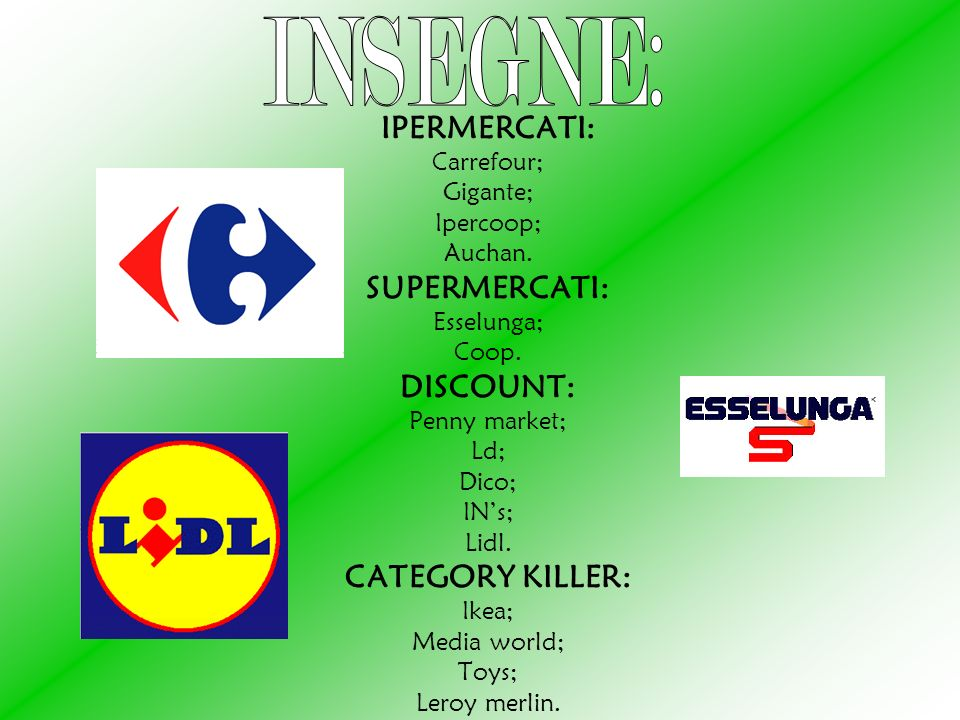 INSEGNE:
