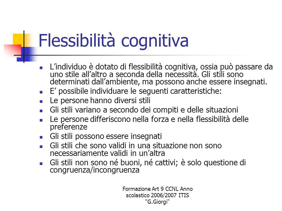 Flessibilità cognitiva