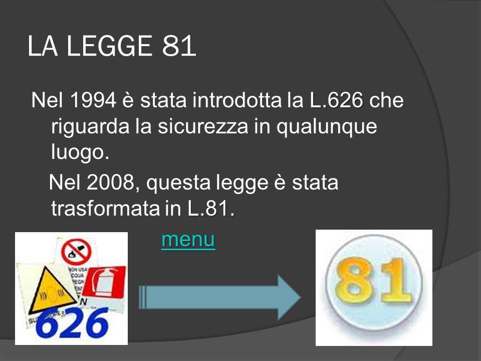 LA LEGGE 81