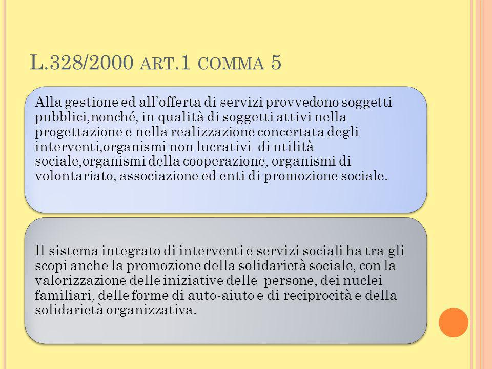 L.328/2000 art.1 comma 5
