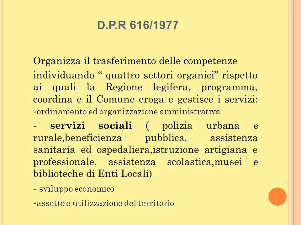 D.P.R 616/1977
