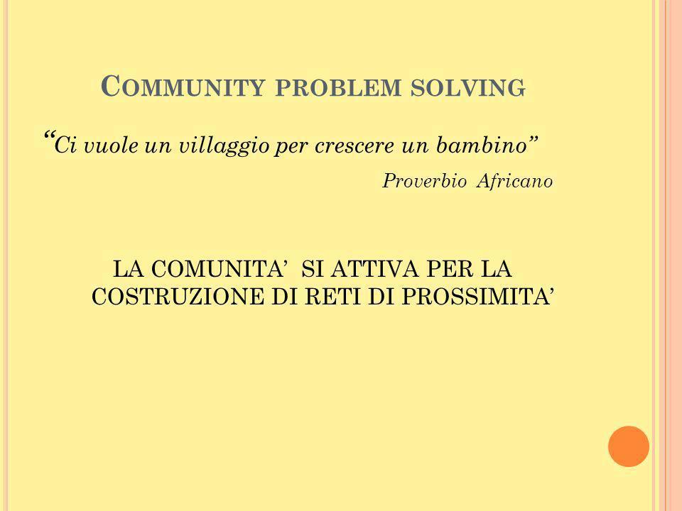 Community problem solving