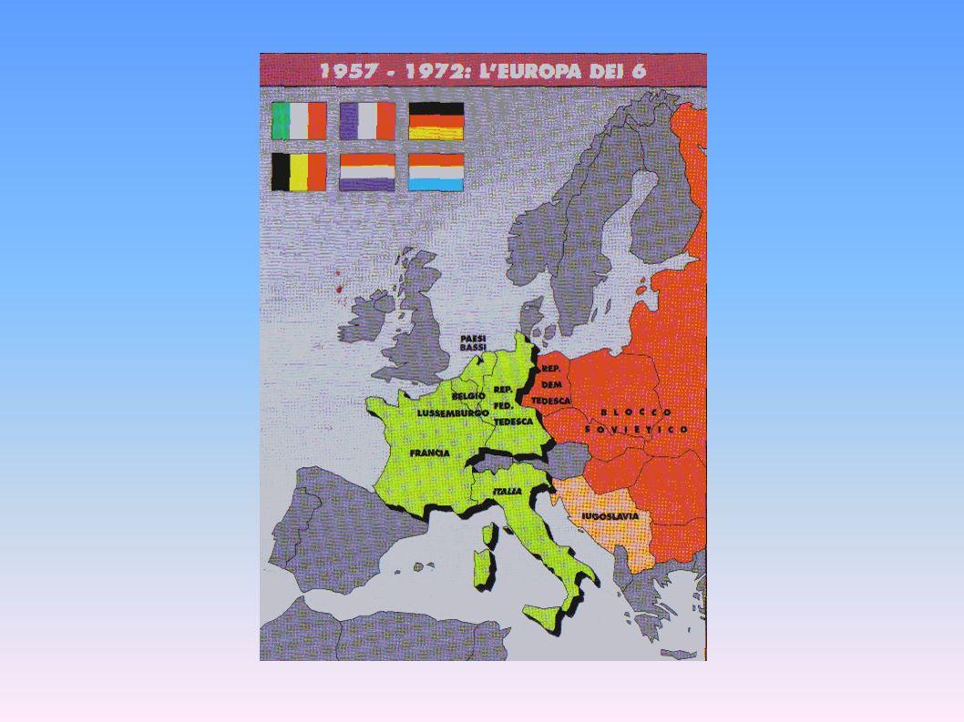 L'Europa dei primi sei Stati