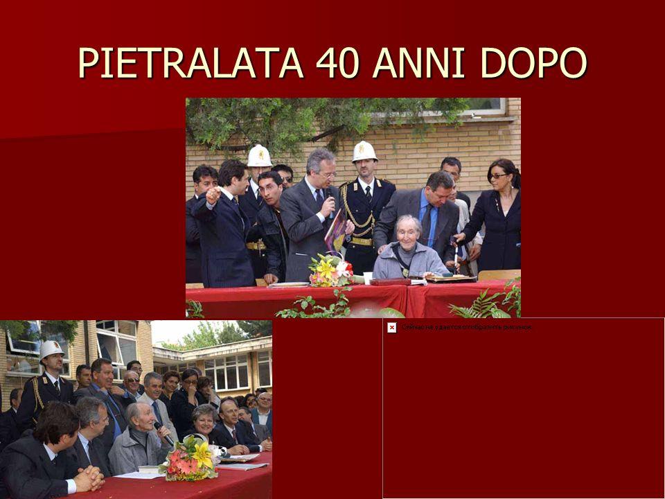 PIETRALATA 40 ANNI DOPO