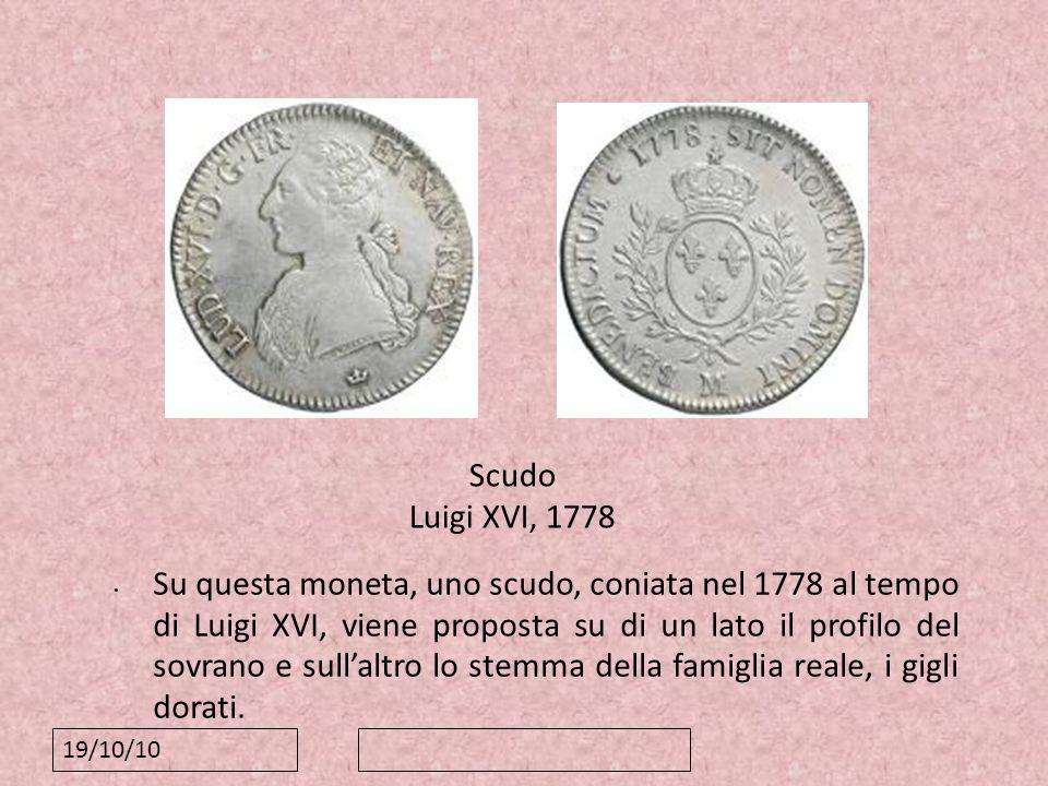 88 Scudo Luigi XVI, 1778.