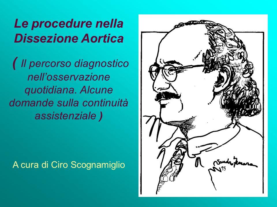 Le procedure nella Dissezione Aortica