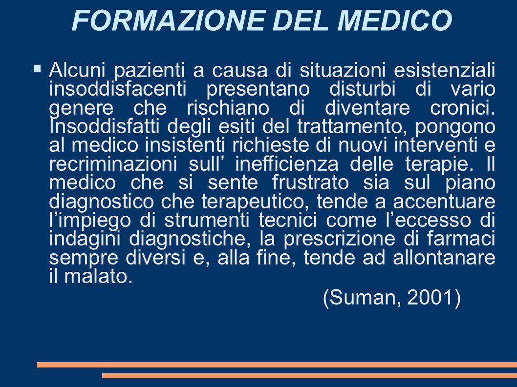 FORMAZIONE DEL MEDICO 16161616.