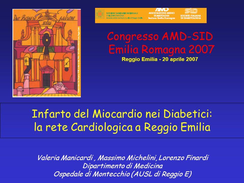Congresso AMD-SID Emilia Romagna 2007 Reggio Emilia - 20 aprile 2007
