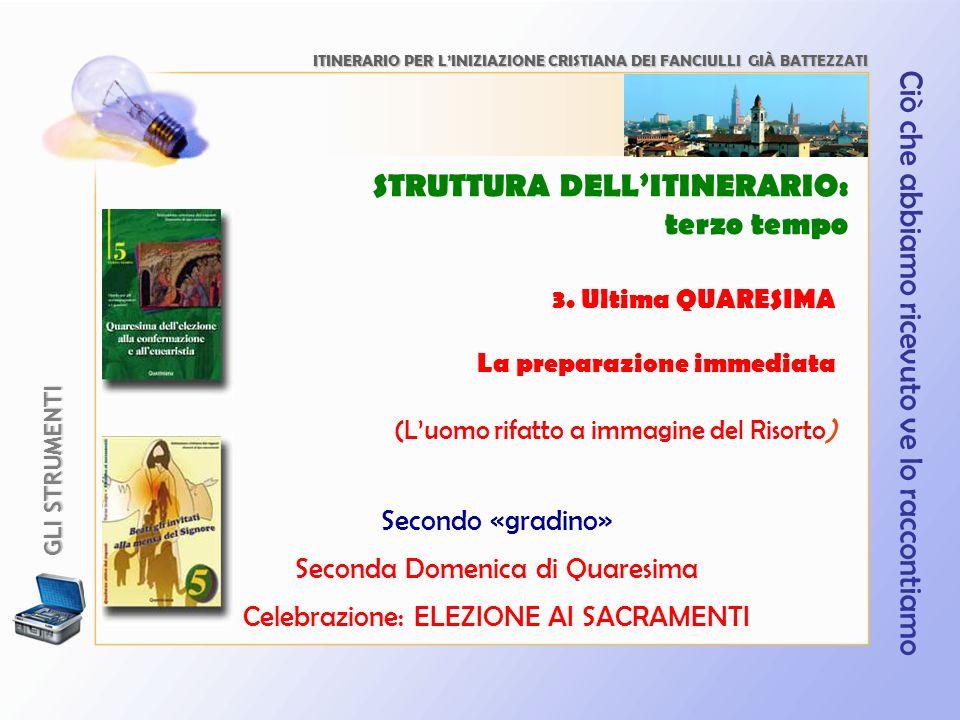 ITINERARIO PER L'INIZIAZIONE CRISTIANA DEI FANCIULLI GIÀ BATTEZZATI