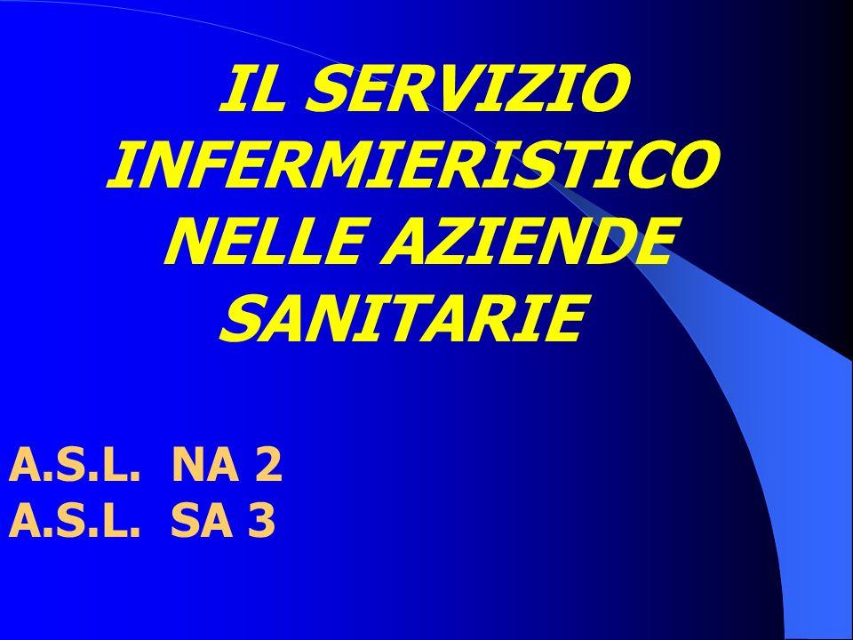IL SERVIZIO INFERMIERISTICO NELLE AZIENDE SANITARIE A.S.L. NA 2