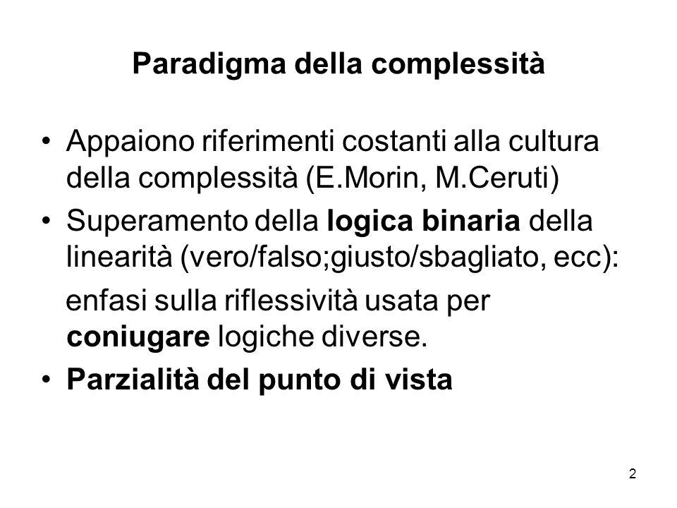 Paradigma della complessità