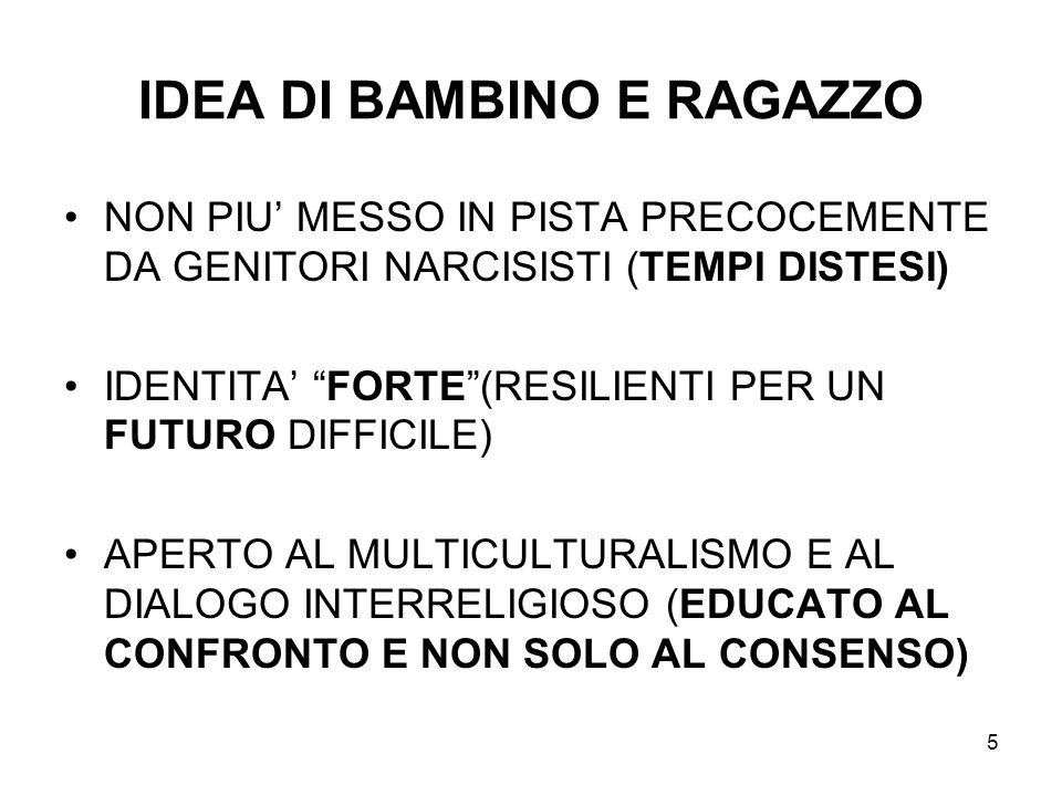 IDEA DI BAMBINO E RAGAZZO