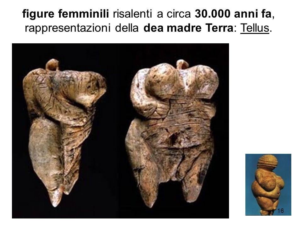 figure femminili risalenti a circa 30