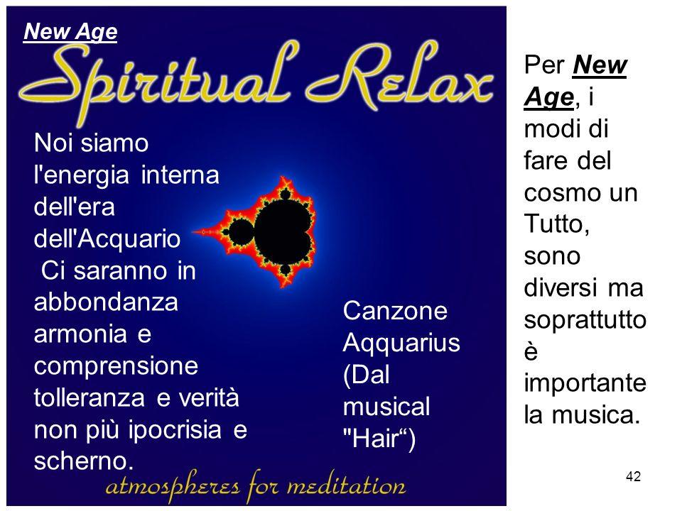 Canzone Aqquarius (Dal musical Hair )