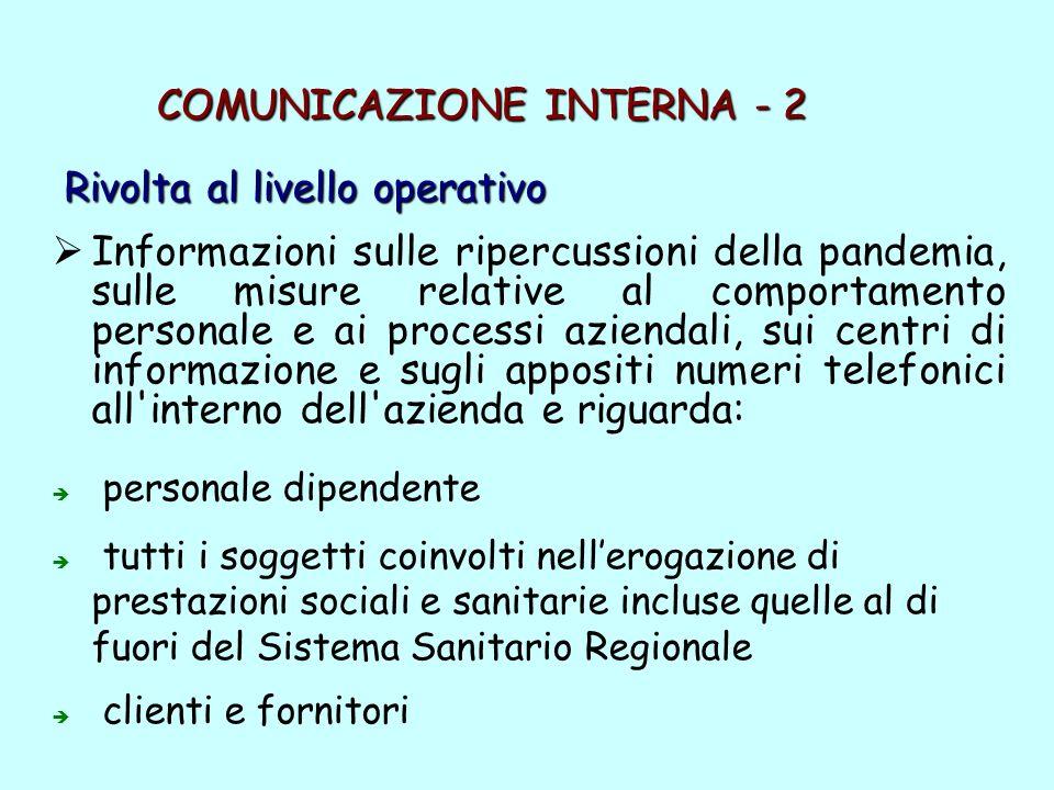 COMUNICAZIONE INTERNA - 2