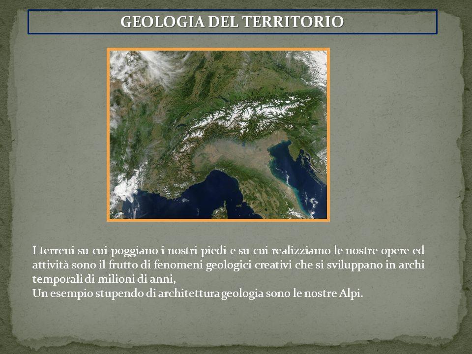GEOLOGIA DEL TERRITORIO