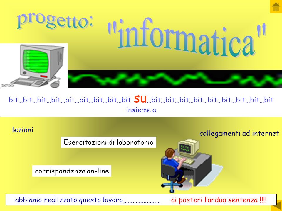 progetto: informatica