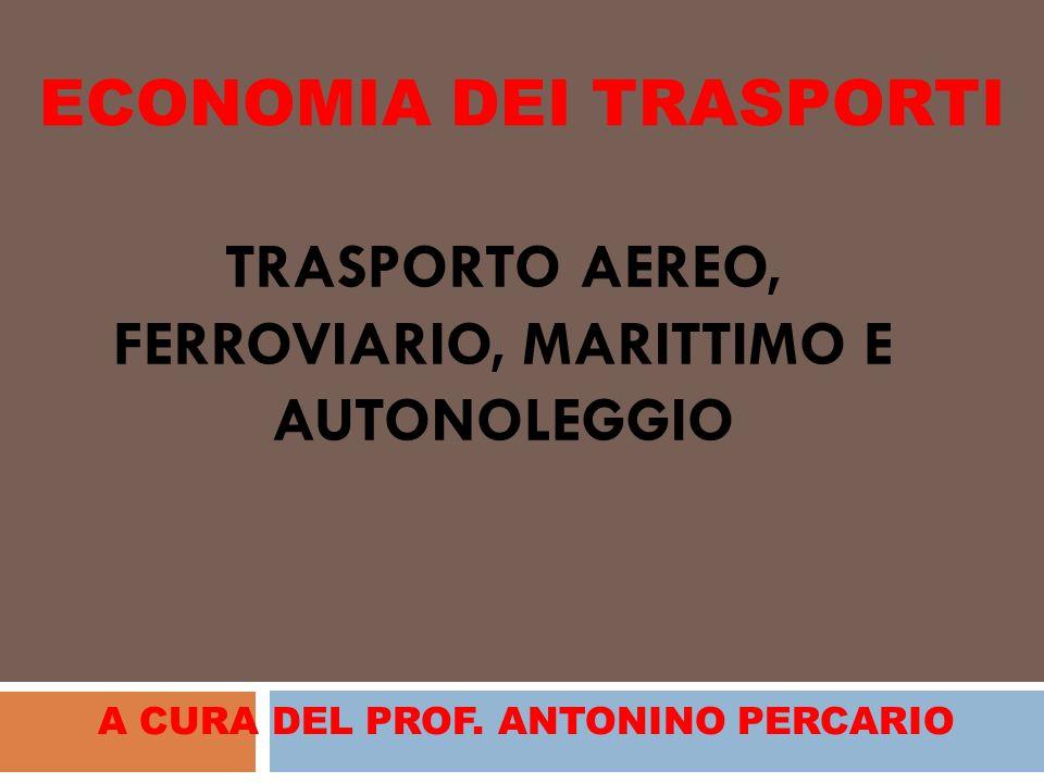 TRASPORTO AEREO, FERROVIARIO, MARITTIMO E AUTONOLEGGIO