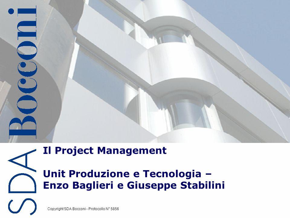 Il Project Management Unit Produzione e Tecnologia – Enzo Baglieri e Giuseppe Stabilini