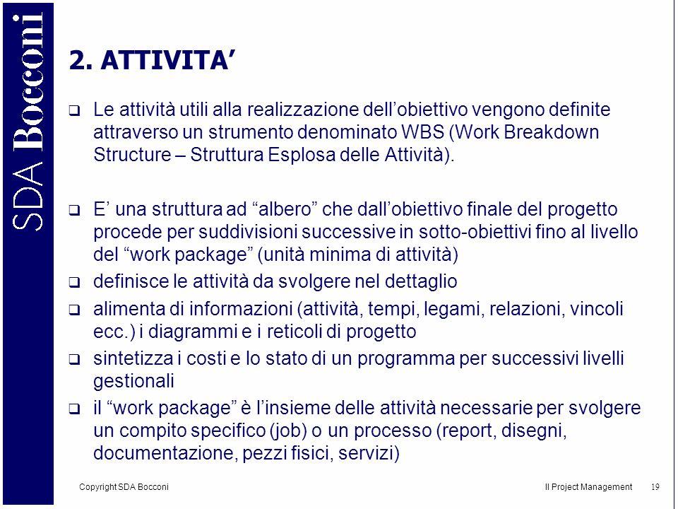 2. ATTIVITA'