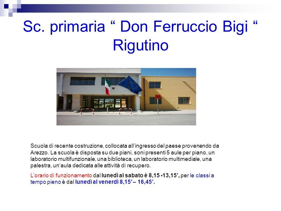 Sc. primaria Don Ferruccio Bigi Rigutino
