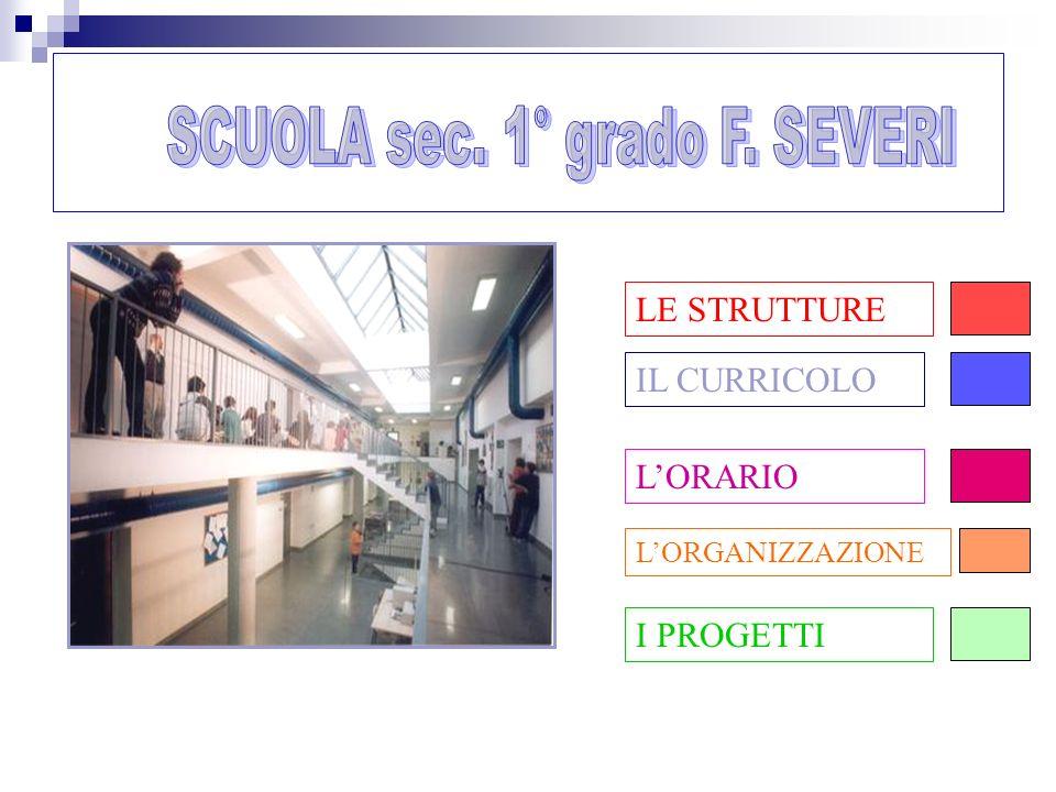 SCUOLA sec. 1° grado F. SEVERI