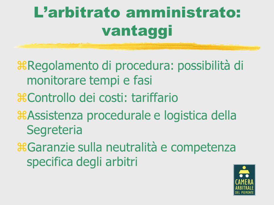 L'arbitrato amministrato: vantaggi