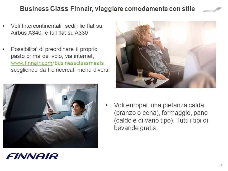 Business Class Finnair, viaggiare comodamente con stile