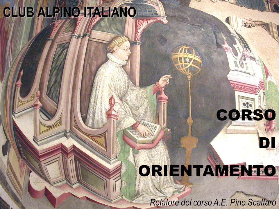 CORSO DI ORIENTAMENTO CLUB ALPINO ITALIANO