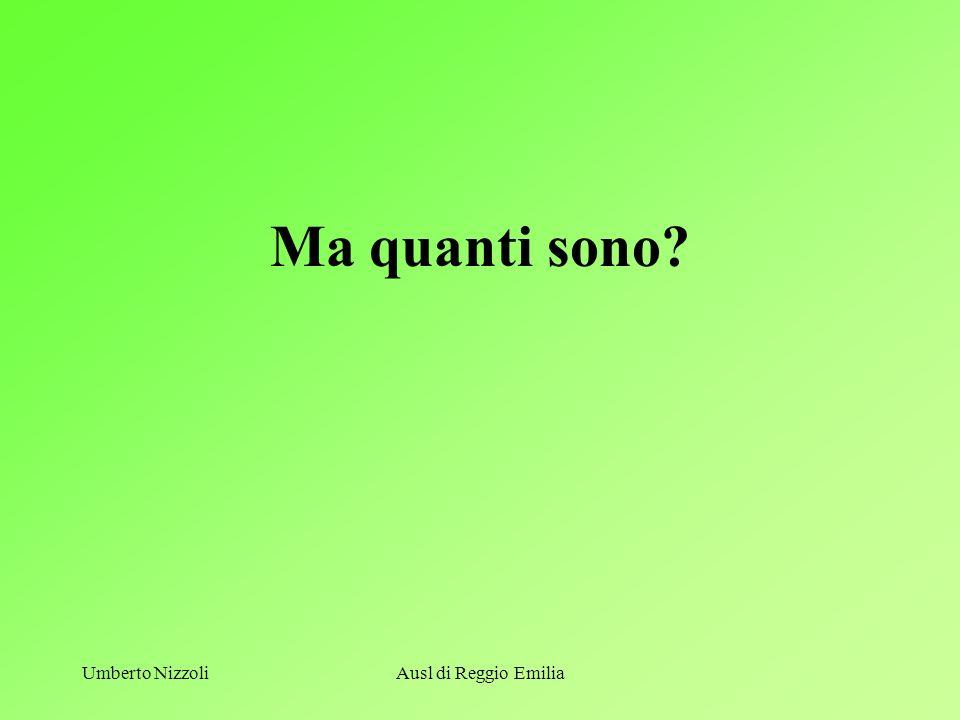 Ma quanti sono Umberto Nizzoli Ausl di Reggio Emilia U. Nizzoli