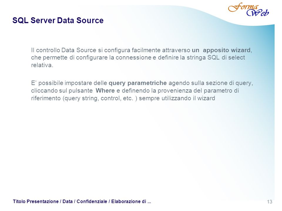 SQL Server Data Source