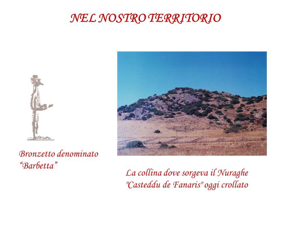 NEL NOSTRO TERRITORIO Bronzetto denominato Barbetta