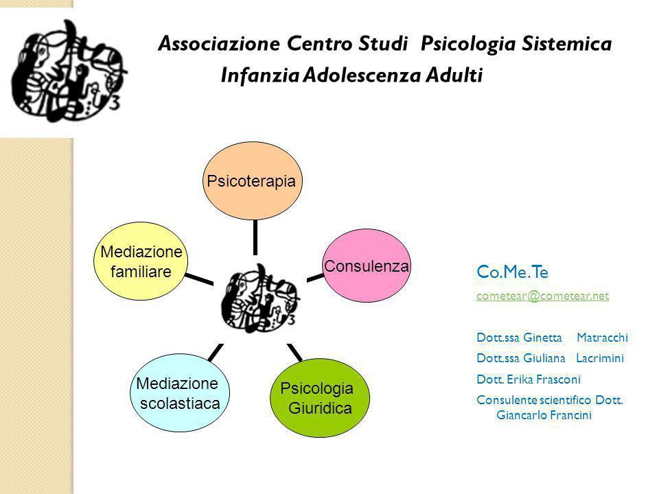 Associazione Centro Studi Psicologia Sistemica Infanzia Adolescenza Adulti