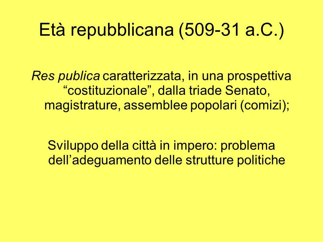 Età repubblicana (509-31 a.C.)