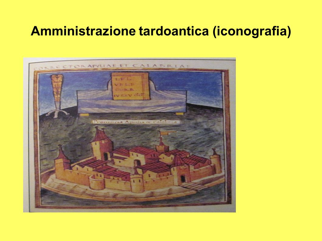 Amministrazione tardoantica (iconografia)