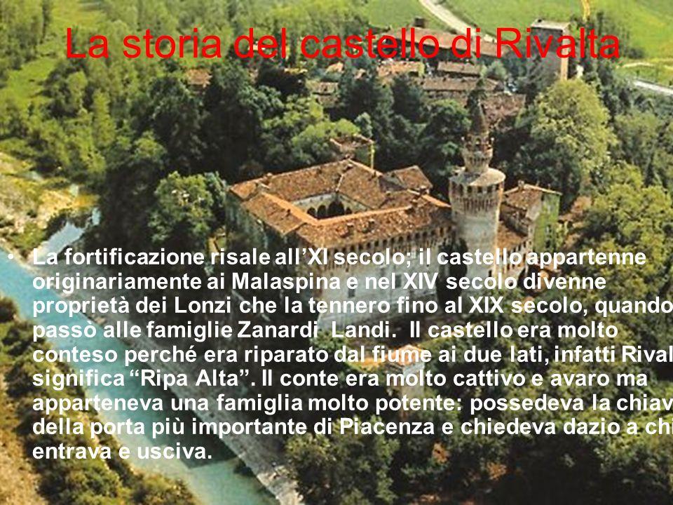 La storia del castello di Rivalta