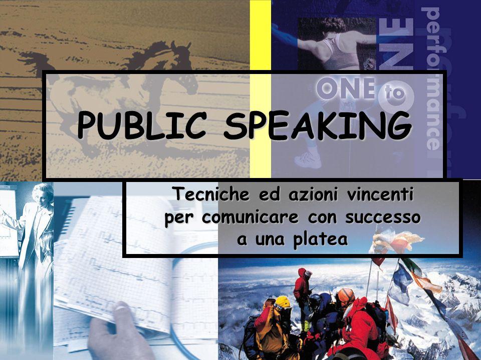 Tecniche ed azioni vincenti per comunicare con successo a una platea
