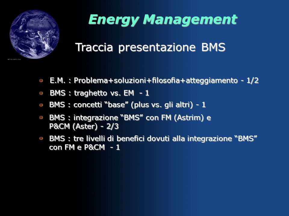 Traccia presentazione BMS