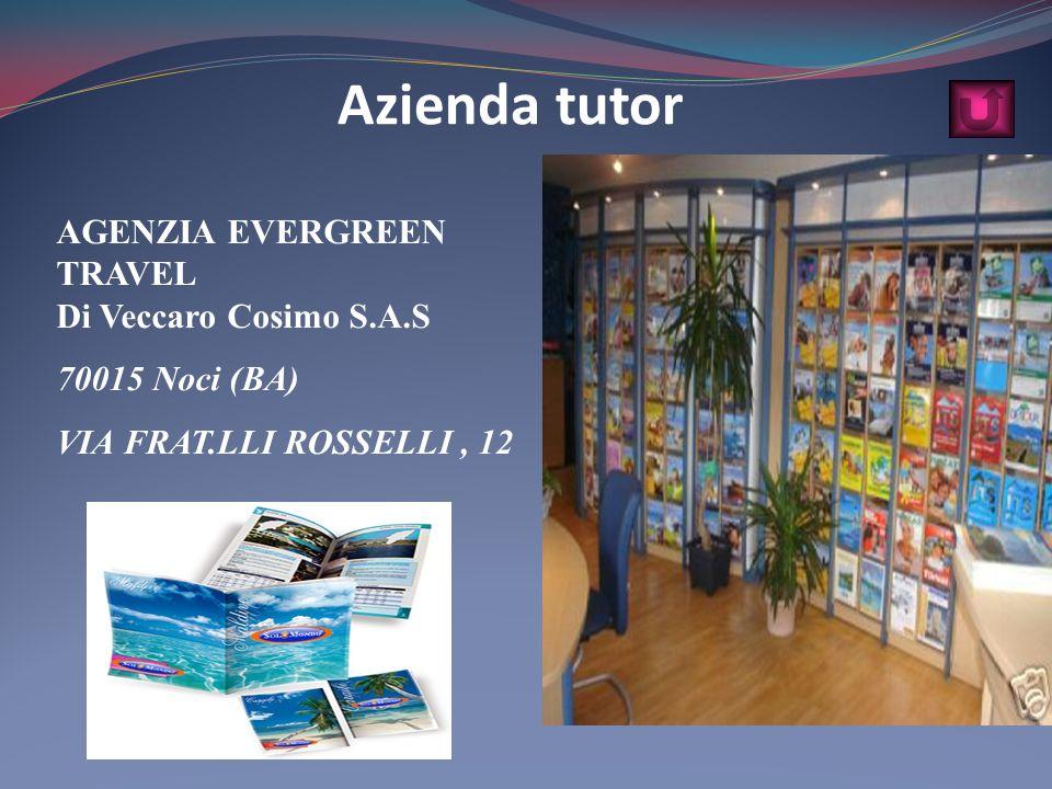 Azienda tutor AGENZIA EVERGREEN TRAVEL Di Veccaro Cosimo S.A.S